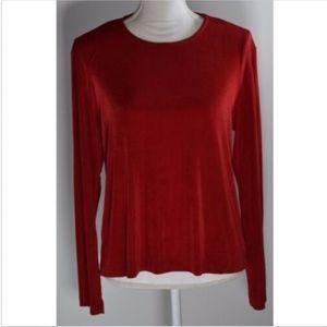 Chico's travelers 2 women's top blouse shirt 12